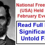 National Freedom Day USA, National Freedom Day History, National Freedom Day 1st Feb, National Freedom Day Facts